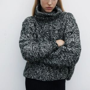 🔥Last 2🔥ZARA Cable knit sweater